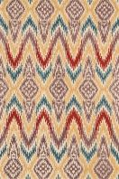 The new Leyda collection features updated Ikat designs that will soften the look of any room. Hand-tufted in India of 100 percent wool, the rugs come in striking, up-to-date colors.