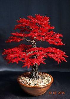Осеннее дерево из бисера. Мастер-класс / Живой лёд глобальных вопросов