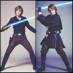 Rey + Luke Skywalker ~ Star Wars *~*
