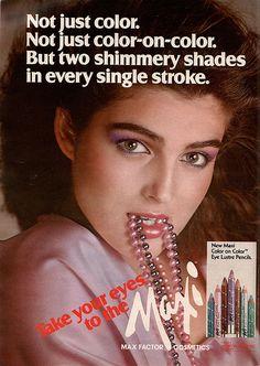 Maxfactor ad (1980)