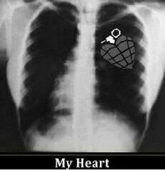 A ture fan's heart.
