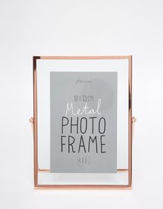 Copper Photo Frame http://bit.ly/1Hbw64A