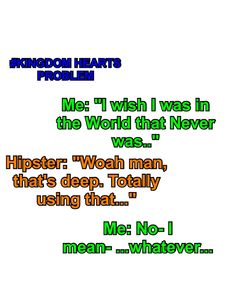 #KingdomHeartsProblem