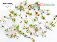 FIORI e FIL0 - COBEADS Wire Necklace, Drop Earrings, Videos, Youtube, Jewelry, Jewlery, Jewerly, Schmuck, Drop Earring