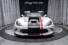 Chicago Motor Cars - Are You Interested? My Dream Car, Dream Cars, 2016 Dodge Viper, Viper Acr, Sport Cars, Motor Car, Mopar, United States, Supercars