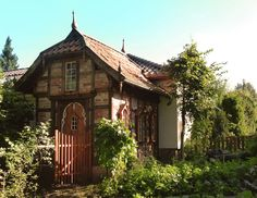 Joachim Tantau - Timbered house, built as a decorative granary. House Built, Architecture Design, Cabin, House Styles, Building, Home Decor, Architecture Layout, Decoration Home, Room Decor