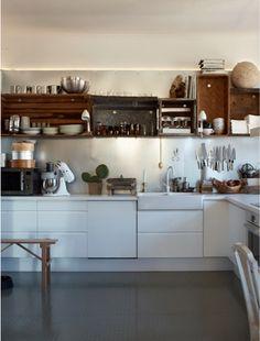 kitchen lighting, storage