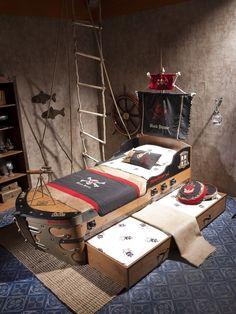 Bedroom, Modern Kids Boy Bedroom Ship Design And Wooden Bedroom Furniture Set: Amazing Boys Bedroom Furniture Sets Choices