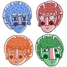 Los Beatles ilustrados