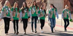 Girl Scouts at Hoover Dam 2014. See more information and photos at http://on.doi.gov/1lKSFhr