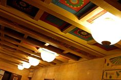 Egyptian Building: Foyer Ceiling by taberandrew, via Flickr  www.flickr.com/...                                                                                                                        Egyptian Building: Foyer Ceiling             by    ..