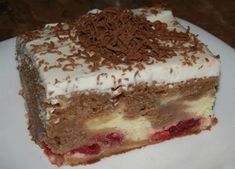 Delicious Desserts, Dessert Recipes, Rum Cake, Sweet Cakes, Flan, Yummy Cakes, Vanilla Cake, Tiramisu, Nutella