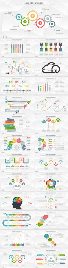 25+ chart Slides PowerPoint templates download on Behance