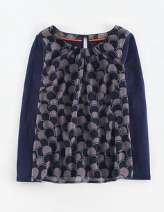 Matilda Top WL957 Long Sleeved Tops at Boden