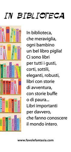 Biblioteca Italian Grammar, Italian Language, Italian Lessons, English Lessons, Learning Activities, Kids Learning, Text Types, Classroom Setting, Learning Italian