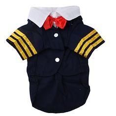 marinheiro blazer estilo para cães (xs-xl, azul) – BRL R$ 31,09