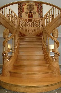 Art Nouveau Style Staircase