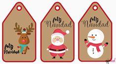 Diy Christmas Cards, Xmas Cards, Kids Christmas, Merry Christmas, Christmas Gifts, Christmas Ornaments, Santa Gifts, Secret Santa, Hang Tags