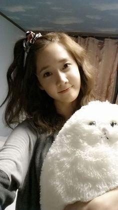 SNSD Yoona cute UFO selca