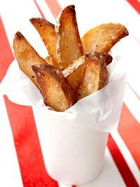 Give up fries? Boo!... Good thing we found this baked recipe, way healthier!