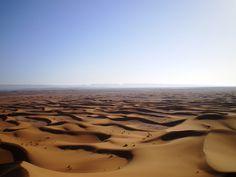 Moment of bliss in the Southern Morrocan desert #Morroco #desert #Sahara