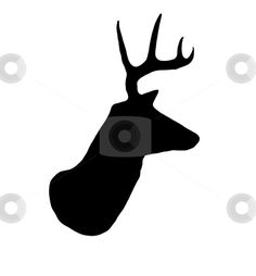 cutcaster-photo-800981866-Whitetail-Buck-Deer-Head-Profile-Silhouette.jpg 417×450 pixels