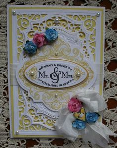 Summery Wedding Card