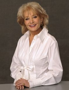 At age 82, still powerful, vital, and shows no signs of slowing down.....what a life this extremely intelligent woman has lived! ♥ღ Ms Barbara Walters