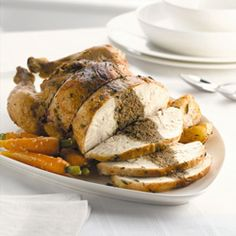 Lemon & Thyme Roast Chicken recipe by Denby