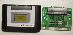 Nintendo 64 (N64), Game Boy (Classic, Color, Advance), and Sega Master System plug-in adapters for the Retrode 2!