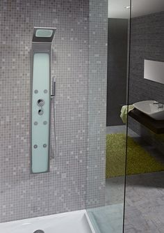 1000 images about gresites y teselas de azulejos on for Columna ducha ikea