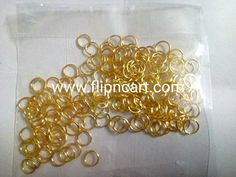 JUMP RINGS - Flipncart Online Shopping in Vizag| CRAFT MATERIALS, SILKTHREAD MATERIALS, QUILLING MATERIALS, TERRACOTTA MATERIALS, OFFERS, BANGLES, JUMKA BASES, IPIN, HEAD PINS, LOREALS, STUD BASES, BEAD CAPS, JUMP RINGS, STONE LACE, STONE CHAIN, PEARL CHAIN.