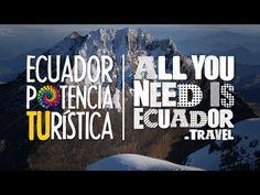 Ecuador Potencia Turística  #AllYouNeedisEcuador