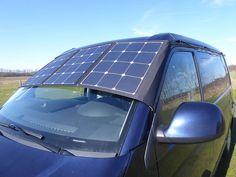 Faltbares Solarmodul mit Laderegler, 110Wp Vw T5, Camping Box, Camper Interior, Solar Power, Ford, Rv, Solar Energy, Campervan Interior, Camper Interior Design