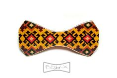 FREE SHIPPING WORLDWIDE wooden printed bow tie Armenian handmade made in Armenia armenian carpet bow tie armenian native bow tie by BowX on Etsy