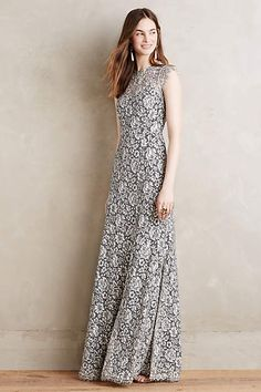 Marcella Lace Gown - anthropologie.com