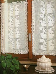 Magic Crochet n° 37 - leila tkd - Picasa Web Albümleri Crochet Curtains, Filet Crochet, Simple, Blog, Home Decor, Magic, Point, Albums, Crochet Appliques