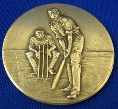Silver 1937 British India Army Inter Company Cricket Medal