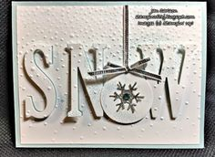 Stampin With Jan: Eclipse Technique