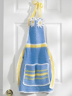 Apron | Yarn | Free Knitting Patterns | Crochet Patterns | Yarnspirations