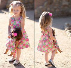 Girl & Doll pattern