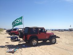 Freeman Park, Carolina Beach. Off road access and beach camping allowed. Can't wait for summer!