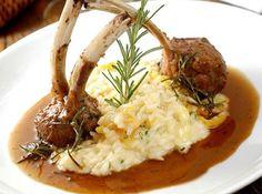 Lamb Recipes, Dinner Recipes, Cooking Recipes, Portuguese Recipes, Italian Recipes, Brie, Masterchef Recipes, Entree Dishes, Risotto Rice