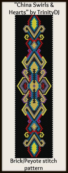 free brick/peyote pattern