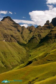 The Drakensberg are the highest mountain range in all of southern Africa. They're also a UNESCO World Heritage Site! It's one of my favourite highlights in South Africa.