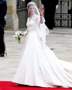 """Her title didn't officially change until she said """"I do,"""" but the bride went from #KateMiddleton to the Duchess of Cambridge in our eyes the second we saw her dressed in #AlexanderMcQueen. http://www.instyle.com/instyle/package/general/photos/0,,20352342_20521007_21043241,00.html"""