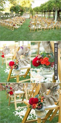 Sillas para la ceremonia. #ceremonia #mecaso #boda #sillas #decoracion #iglesia #civil