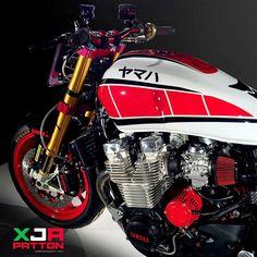 XJR PATTON by Christian Bagutti - Italy - Yamaha XJR 1300 #christianbagutti…