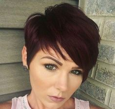 Red brown pixie by Bonnie Angus