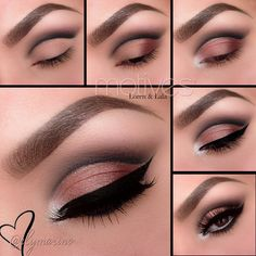 Gorgeous cut crease tutorial by Ely Marino using ALL Motives! Check out the full Motives line at: http://motives.shoppingjinx.com